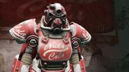 NW Nuka T-51 power armor art