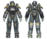 FO4CC T-45 power armor minutemen armored cavalry
