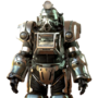 FO76 Silver excavator power armor paint.png