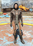 Fo4Bomber Jacket female