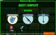 FoS Undercover Operations rewards