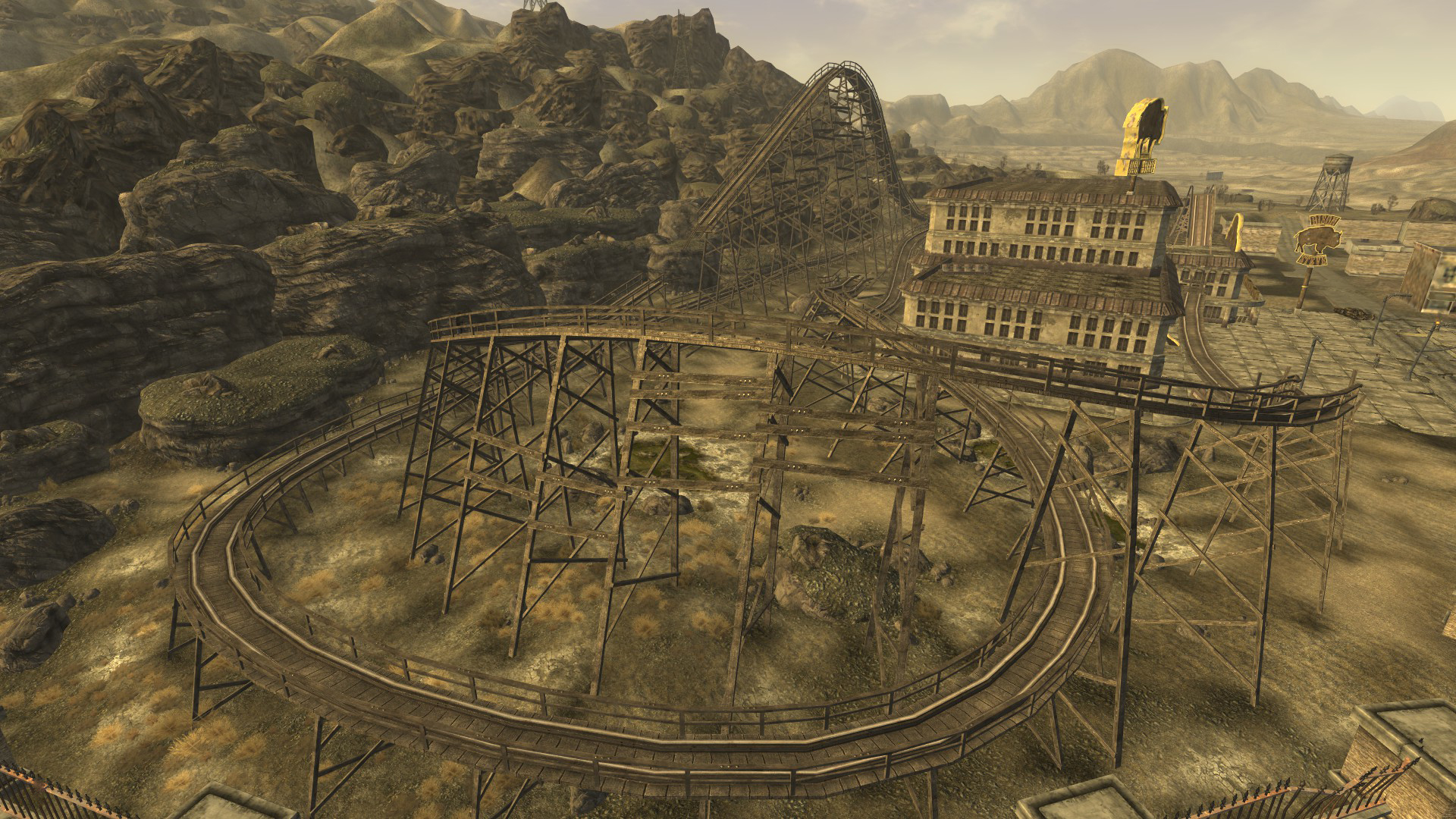 El Diablo rollercoaster