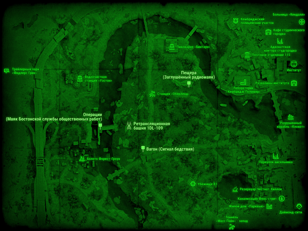 Ретрансляционная башня 1DL-109