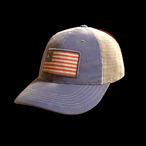 American trucker cap