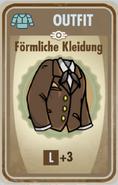 FOS Karte - Förmliche Kleidung