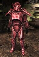 Pink Power Armor