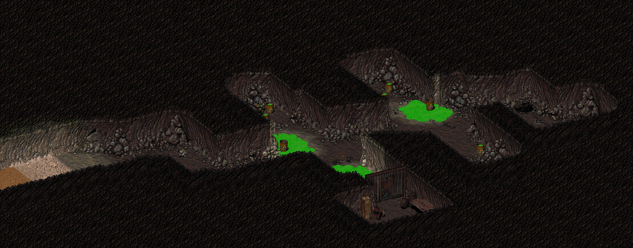 Toxic caves