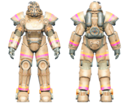 FO4CC T-51 power armor Slocum's Joe tan