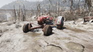 FO76 Tractor Toxic Valley