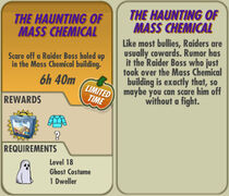 FoS The Haunting of Mass Chemical card