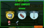 FoS The Quest for Vault 525 rewards