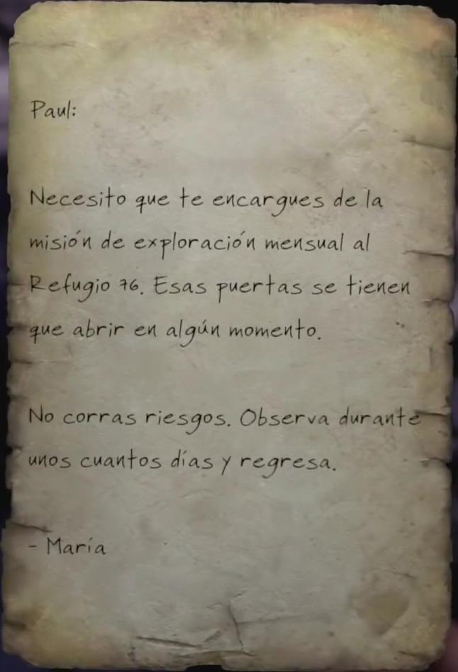 Órdenes de María Chávez