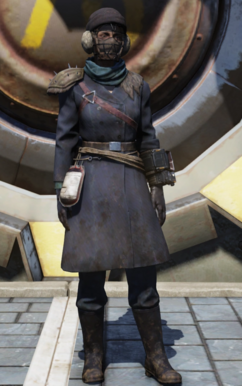 FO76WL Fashionable Raider outfit female.png