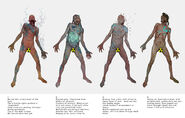 FO76 Concept art scorched ghouls of Appalachia (4)