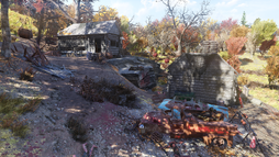 FO76 Twin Pine cabins.png