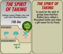FoS The Spirit of Taking card