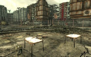 National Guard depot Courtyard loot