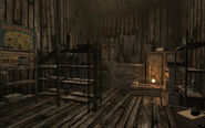 CFH storage shed interior