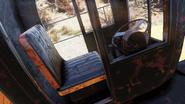 FO76 Mining dump truck cab