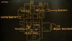 Vault 19 loc map 1st floor