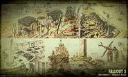 Art of Fallout 3 environmental CA1