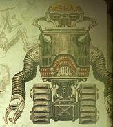 FO3 Brain Bot concept