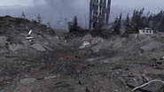 FO76 Vertibird crash site 02