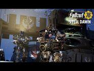 Fallout 76- Стальной рассвет—анонсирующий ролик «Раскол стали»