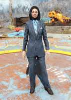 Fo4Clean Blue Suit