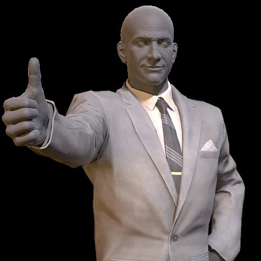 Clean grey suit (Fallout 76)