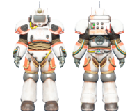 CC-00 power armor Institute paint