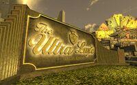 FNV Ultra Luxe Las Vegas Resort sign