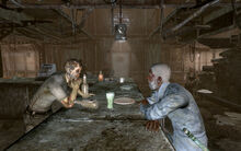 FO3 Walter in the Moriartys Saloon