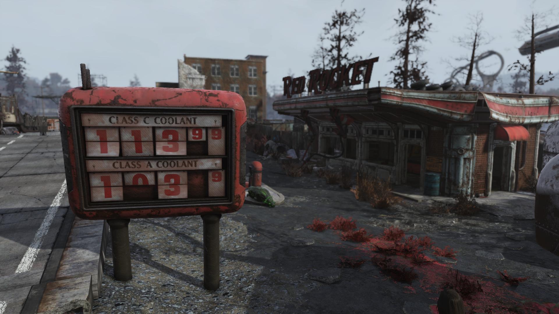 Red Rocket (Abandoned bog town)