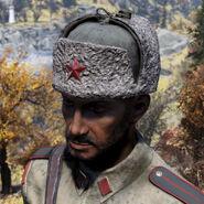 FO76 Headwear Communist Commander Hat