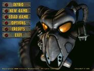 Fallout 2 menu