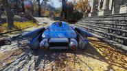 Fo76 Sugarmaple FlyingCar Back