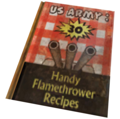 US Army 30 Handy Flamethrower Recipes.png