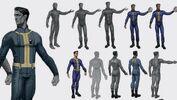 Vault suit concept art