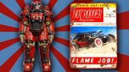 FO4 Hot rodder red