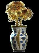 Floral vaulted vase