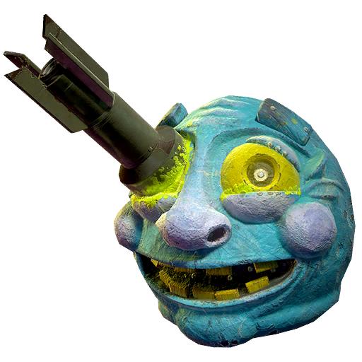 Fasnacht Moonshine Mama mask