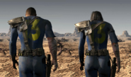 FO1 Vault Dwellers side by side