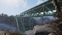 FO76 New River Gorge Bridge