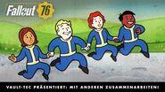 Fallout 76 – Vault-Tec präsentiert Mit anderen zusammenarbeiten! (Multiplayer)