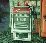 Fo76 Medical supplies vending machine 2