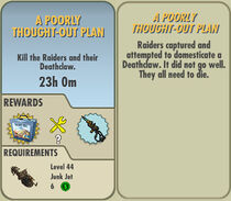 FoS A Poorly Thought-Out Plan card