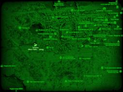 FO4 Тоннель «Масс Пайк» - запад (карта мира).png