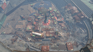 FO4 Diamond city on top
