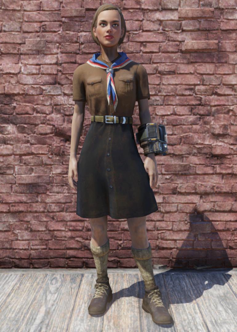 Pioneer Scout Possum uniform
